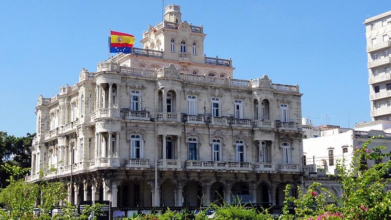 consulado embajada españa en la habana